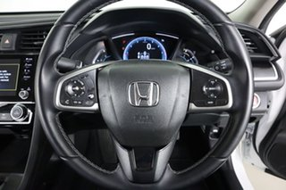 2019 Honda Civic MY19 VTi-S White Continuous Variable Hatchback