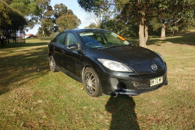 Used Mazda 3 BL10L1 SP25 East Maitland, 2010 Mazda 3 BL10L1 SP25 Black 6 Speed Manual Sedan