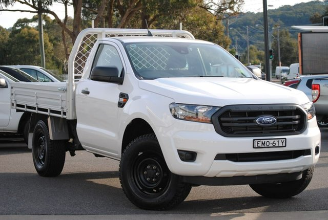 Used Ford Ranger PX MkIII 2020.75MY XL West Gosford, 2020 Ford Ranger PX MkIII 2020.75MY XL White 6 Speed Sports Automatic Single Cab Chassis