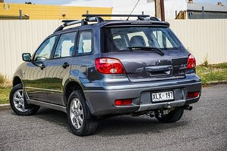 2006 Mitsubishi Outlander ZF MY07 Activ Grey 4 Speed Sports Automatic Wagon.