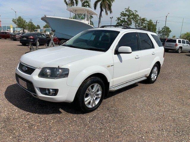 Used Ford Territory TX Pinelands, 2011 Ford Territory TX White 4 Speed Auto Active Select Wagon
