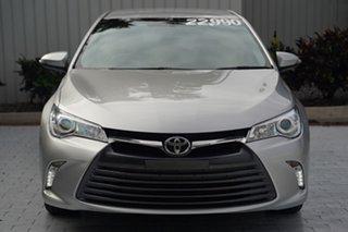 2016 Toyota Camry ASV50R Altise Silver 6 Speed Sports Automatic Sedan.