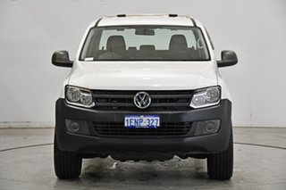 2014 Volkswagen Amarok 2H MY14 TDI420 4Motion Perm Candy White 8 Speed Automatic Utility.