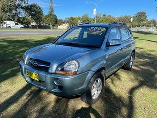 2009 Hyundai Tucson JM MY09 City SX Blue 4 Speed Sports Automatic Wagon.