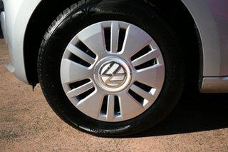 2012 Volkswagen UP! AA Silver 5 Speed Manual Hatchback.