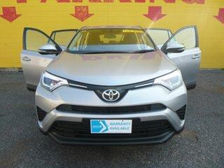 2016 Toyota RAV4 ZSA42R GX Silver 6 Speed Constant Variable Wagon.