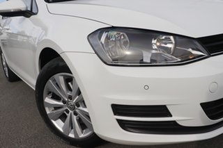 2013 Volkswagen Golf VII 90TSI DSG Comfortline Candy White 7 Speed Sports Automatic Dual Clutch.