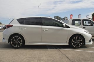 2016 Toyota Corolla ZRE182R ZR S-CVT Crystal Pearl 7 Speed Constant Variable Hatchback
