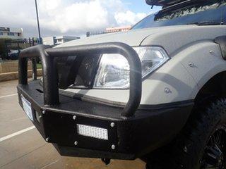 2009 Nissan Navara D40 ST (4x4) Grey Mist 6 Speed Manual Dual Cab Pick-up