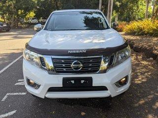 2016 Nissan Navara D23 RX White 6 Speed Manual Utility.