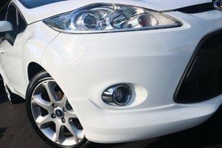 2009 Ford Fiesta WS Zetec White 4 Speed Automatic Hatchback.