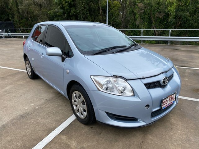 Used Toyota Corolla ZRE152R Ascent Morayfield, 2007 Toyota Corolla ZRE152R Ascent Blue 4 Speed Automatic Hatchback