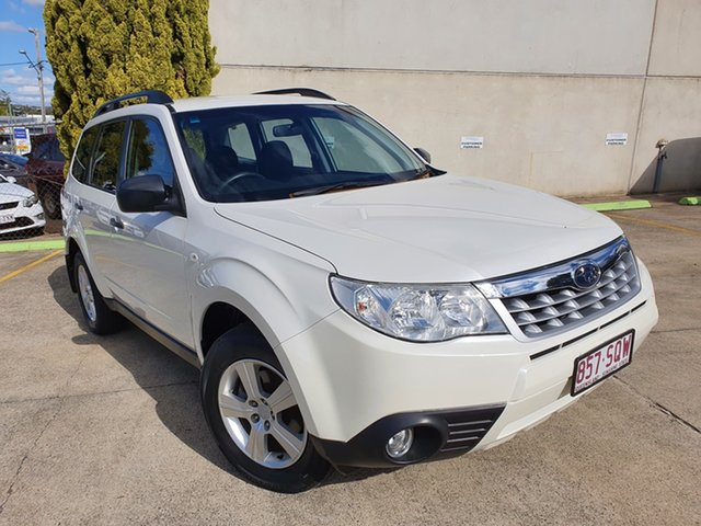 Used Subaru Forester S3 MY12 X AWD Luxury Edition Toowoomba, 2012 Subaru Forester S3 MY12 X AWD Luxury Edition White 4 Speed Sports Automatic Wagon