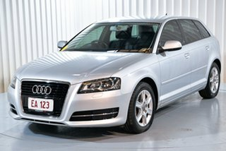 2013 Audi A3 8P MY13 Attraction Sportback S Tronic Silver 7 Speed Sports Automatic Dual Clutch.