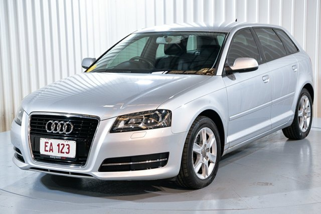 Used Audi A3 8P MY13 Attraction Sportback S Tronic Hendra, 2013 Audi A3 8P MY13 Attraction Sportback S Tronic Silver 7 Speed Sports Automatic Dual Clutch