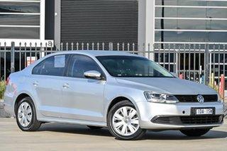 2013 Volkswagen Jetta 1B MY13.5 118TSI DSG Silver 7 Speed Sports Automatic Dual Clutch Sedan.