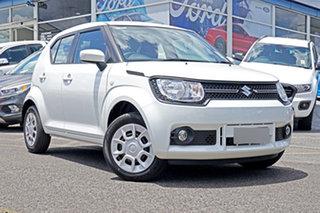 2021 Suzuki Ignis MF Series II GL White 5 Speed Manual Hatchback.