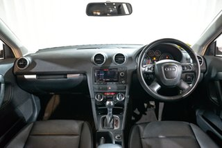 2013 Audi A3 8P MY13 Attraction Sportback S Tronic Silver 7 Speed Sports Automatic Dual Clutch