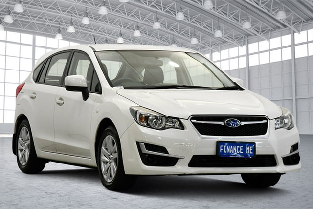 Used Subaru Impreza G4 MY16 2.0i Lineartronic AWD Victoria Park, 2016 Subaru Impreza G4 MY16 2.0i Lineartronic AWD Crystal Pearl 6 Speed Constant Variable Hatchback
