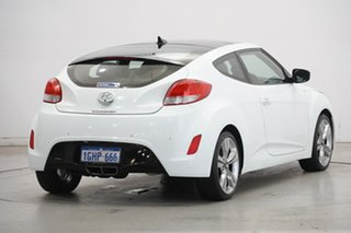 2012 Hyundai Veloster FS2 + Coupe D-CT White 6 Speed Sports Automatic Dual Clutch Hatchback