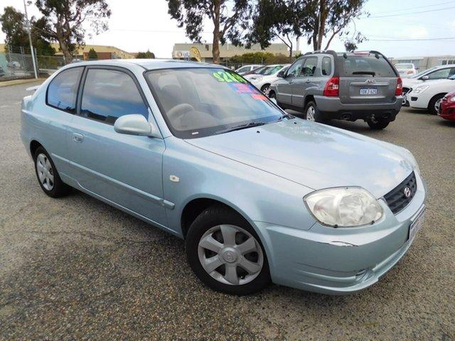 Used Hyundai Accent LC MY04 GL Wangara, 2004 Hyundai Accent LC MY04 GL Blue 5 Speed Manual Hatchback