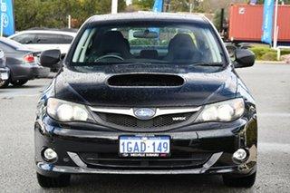 2009 Subaru Impreza G3 MY09 WRX AWD Black 5 Speed Manual Sedan