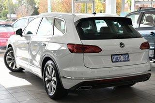 2020 Volkswagen Touareg CR MY21 210TDI Tiptronic 4MOTION Elegance Pure White 8 Speed.