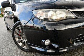 2009 Subaru Impreza G3 MY09 WRX AWD Black 5 Speed Manual Sedan.