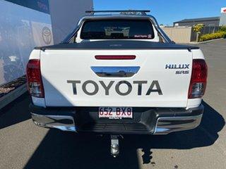 2018 Toyota Hilux GUN126R MY19 SR5 (4x4) Glacier White 6 Speed Manual Double Cab Pick Up