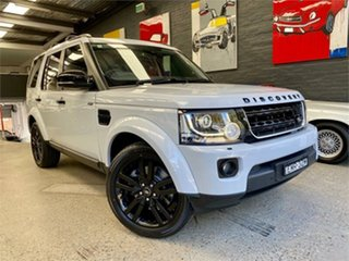 2016 Land Rover Discovery Series 4 L319 HSE White Sports Automatic Wagon.