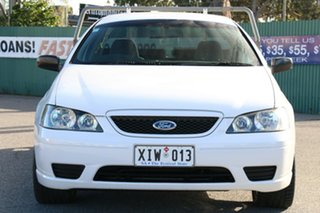 2006 Ford Falcon BF XL Super Cab White 4 Speed Sports Automatic Cab Chassis