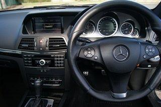 2010 Mercedes-Benz E250 207 CGI Elegance Black 5 Speed Automatic Coupe