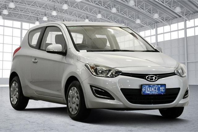 Used Hyundai i20 PB MY14 Active Victoria Park, 2013 Hyundai i20 PB MY14 Active Sleek Silver 6 Speed Manual Hatchback