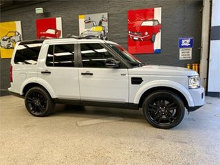 2016 Land Rover Discovery Series 4 L319 HSE White Sports Automatic Wagon