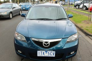 2006 Mazda 3 BK10F1 Maxx Sport Blue 4 Speed Sports Automatic Sedan.