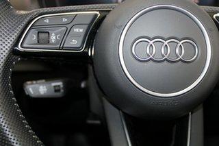 2018 Audi S3 8V MY18 Black Edition Sportback S Tronic Quattro Silver 7 Speed