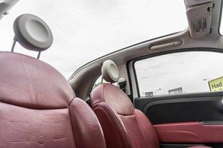 2012 Fiat 500 Series 1 White 5 Speed Manual Hatchback