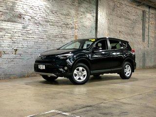 2018 Toyota RAV4 ZSA42R GX 2WD Black 7 Speed Constant Variable Wagon.