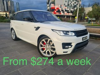 2016 Land Rover Range Rover Sport L494 16MY HSE Dynamic White 8 Speed Sports Automatic Wagon.