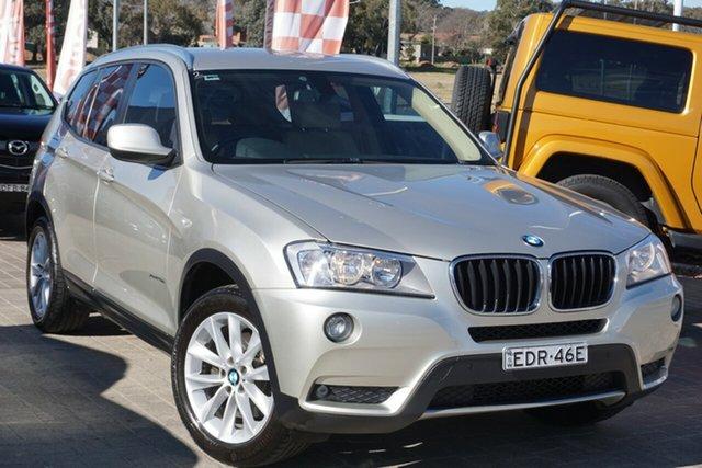 Used BMW X3 F25 MY1112 xDrive20d Steptronic Phillip, 2013 BMW X3 F25 MY1112 xDrive20d Steptronic Silver 8 Speed Automatic Wagon