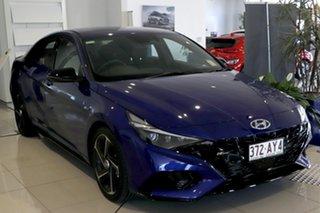 2020 Hyundai i30 CN7.V1 MY21 N Line D-CT Premium Intense Blue 7 Speed Sports Automatic Dual Clutch.