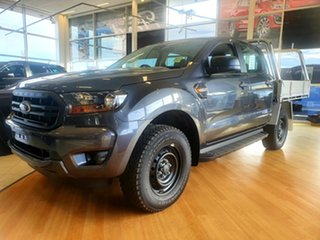 2021 Ford Ranger PX MkIII 2021.25MY XL Meteor Grey 6 Speed Manual Double Cab Pick Up.