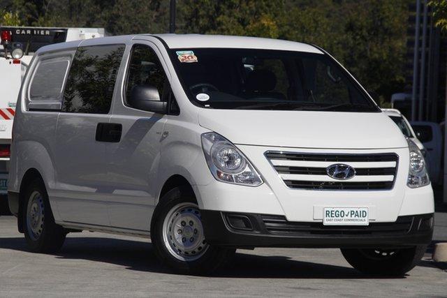 Used Hyundai iLOAD TQ3-V Series II MY17 Crew Cab Robina, 2017 Hyundai iLOAD TQ3-V Series II MY17 Crew Cab White 5 speed Automatic Van