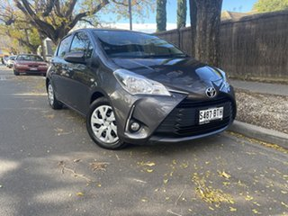 2017 Toyota Yaris NCP131R SX Graphite 4 Speed Automatic Hatchback.