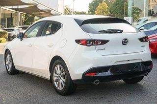 2021 Mazda 3 BP2H76 G20 SKYACTIV-MT Pure White 6 Speed Manual Hatchback.