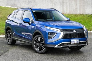 2020 Mitsubishi Eclipse Cross YB MY21 LS 2WD Lightning Blue 8 Speed Constant Variable Wagon.