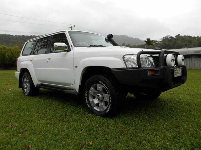 Used Nissan Patrol GU IV ST (4x4) Bungalow, 2005 Nissan Patrol GU IV ST (4x4) White 5 Speed Manual Wagon