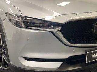 2018 Mazda CX-5 KF4W2A Akera SKYACTIV-Drive i-ACTIV AWD Silver 6 Speed Sports Automatic Wagon.