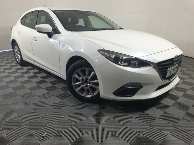 Used Mazda 3 BM5478 Neo SKYACTIV-Drive Wayville, 2015 Mazda 3 BM5478 Neo SKYACTIV-Drive White 6 Speed Sports Automatic Hatchback