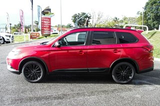 2021 Mitsubishi Outlander ZL MY21 Black Edition 2WD Red Diamond 6 Speed Constant Variable Wagon